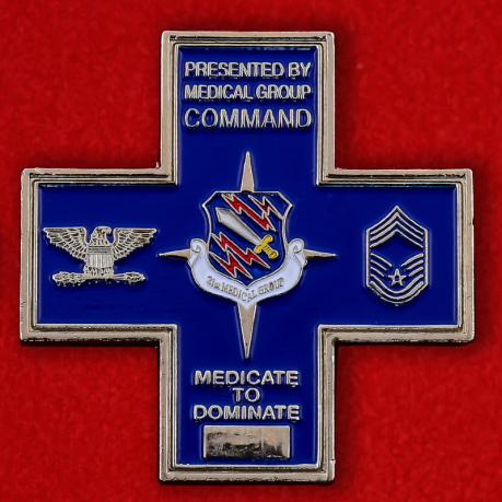 US Northern Command 21st Medical Group Challenge Coin - obverse