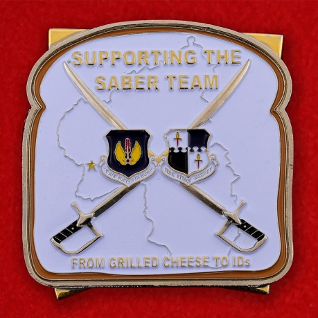 USAF 52nd Force Support Squadron AB Spangdahlem, Germany Challenge Coin - obverse