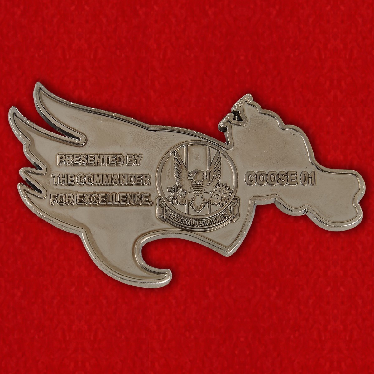 USAF Special Operations Command 1st Special Operations Squadron Challenge Coin