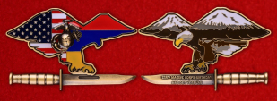 USMC Marine Secutity Guard Detachment In Yerevan, Armenia Challenge Coin