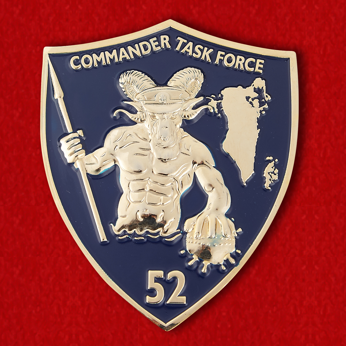 USN Commander Task Force 52 Challenge Coin