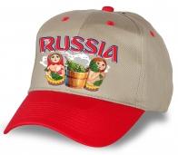 """Успей заказать! Самая модная кепка """"Russia"""" с матрешками."""