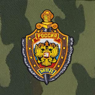 Уставная кепка-камуфляж с вышивкой «МВД России»
