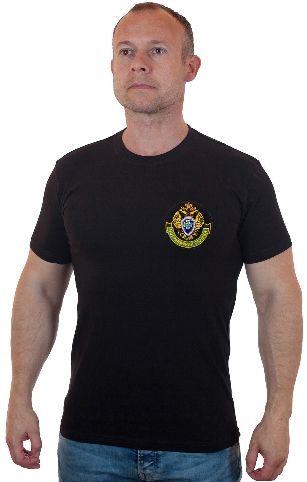 Купить в интернет магазине Военпро недорогую пограничную футболку