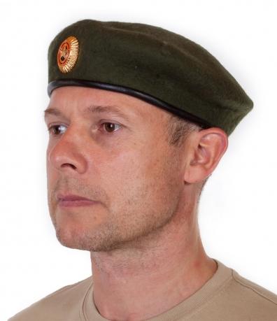 Уставной берет Сухопутных войск с общевойсковой кокардой