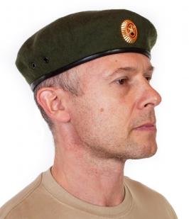 Уставной берет Сухопутных войск с кокардой по лучшей цене