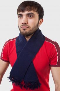 Уставной шарф (кашне МВД) тёмно-синий от Военпро