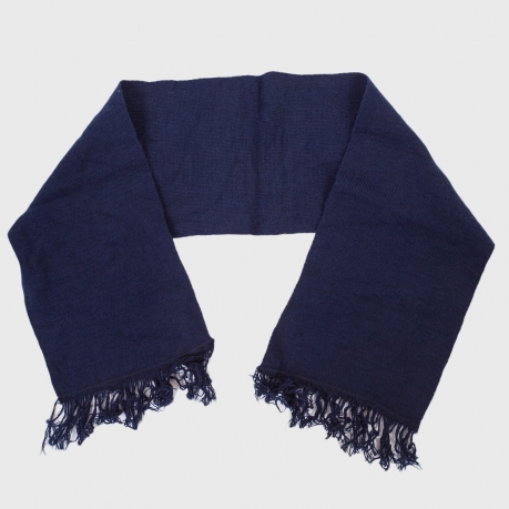 Уставной шарф (кашне МВД) тёмно-синий