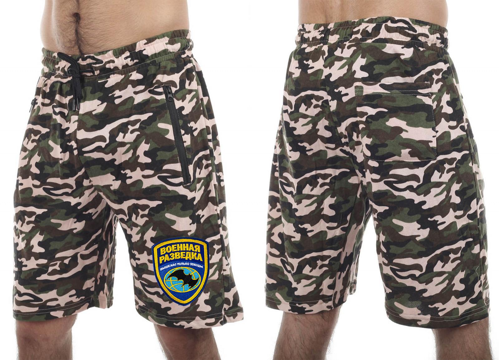 Уставные армейские шорты оптом в Военпро