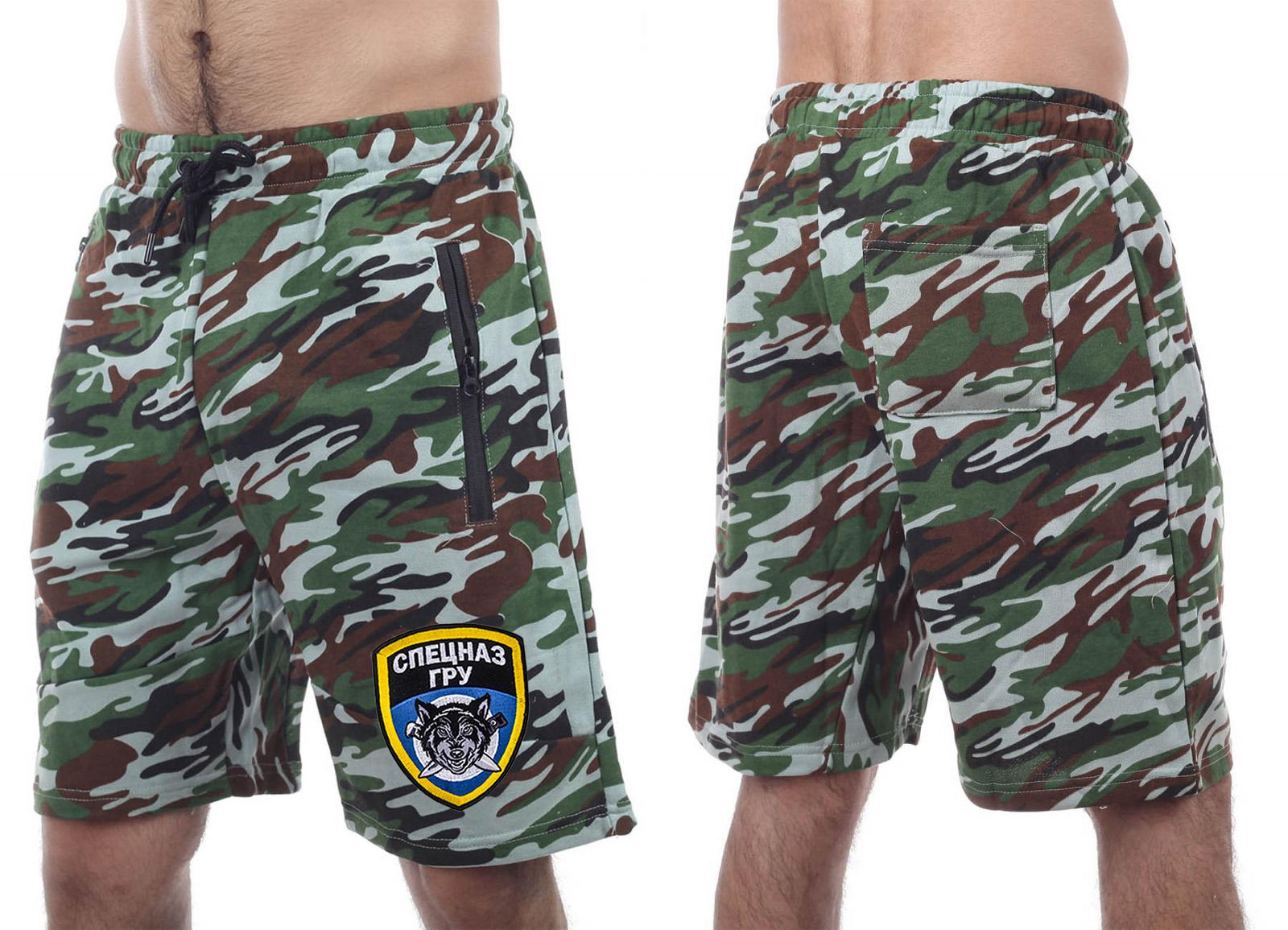 Уставные милитари шорты Спецназа ГРУ
