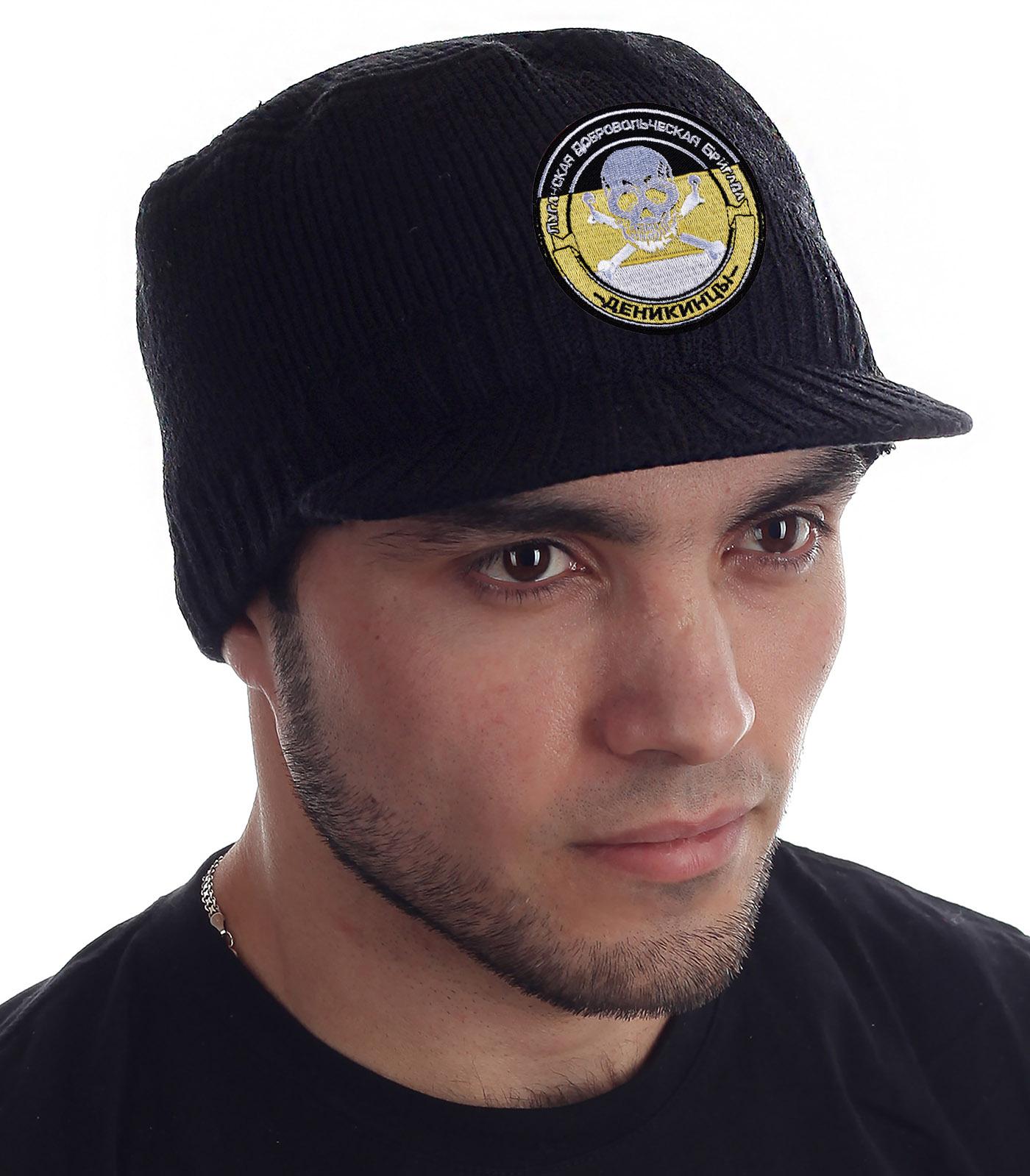 Купить утепленную брендовую шапку с козырьком от Miller Way по выгодной цене