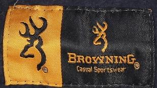 Утепленная флисом мужская толстовка Browning