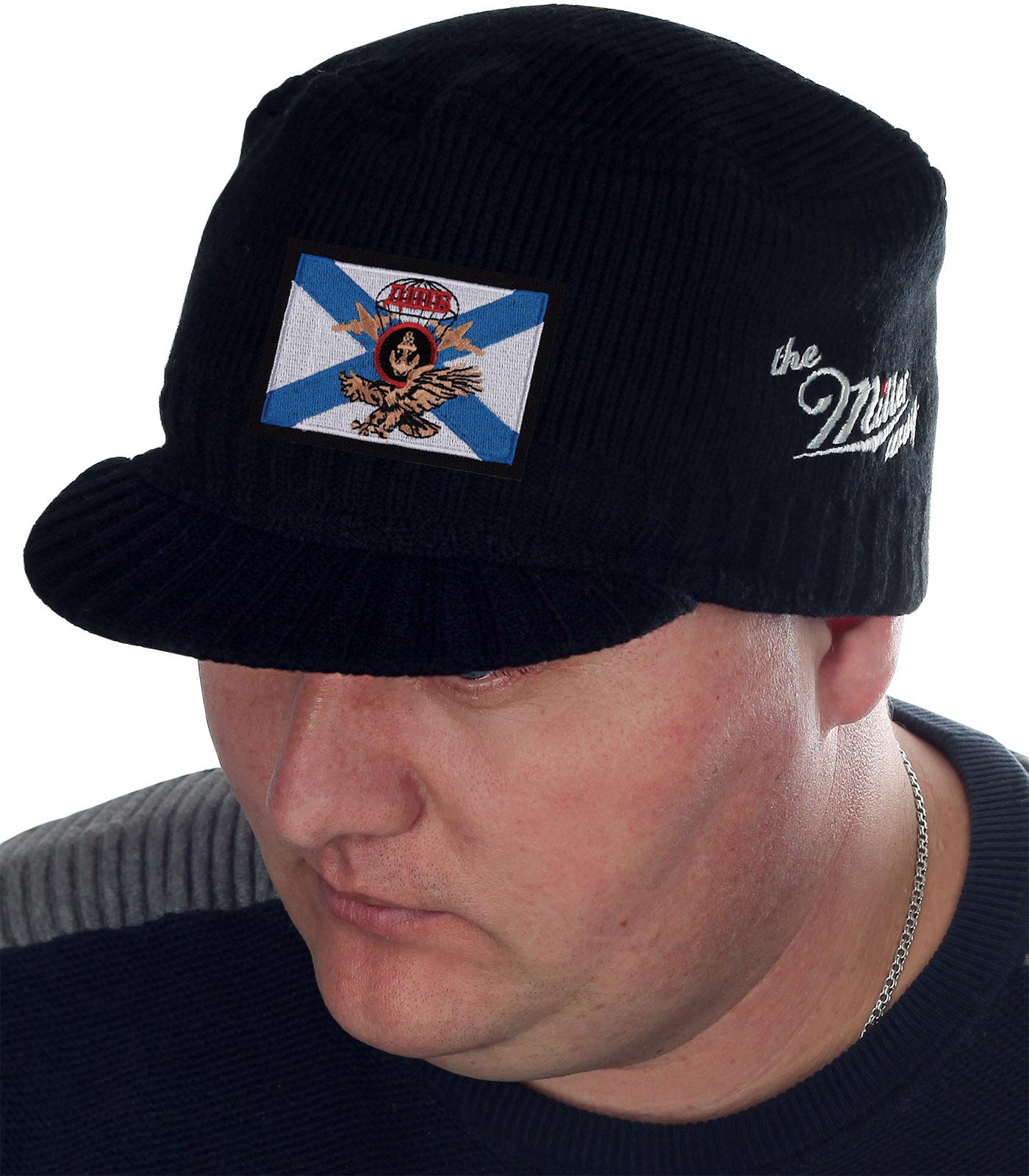 Утепленная кепка-шапка Miller с нашивкой ДШБ Морпех - заказать с доставкой