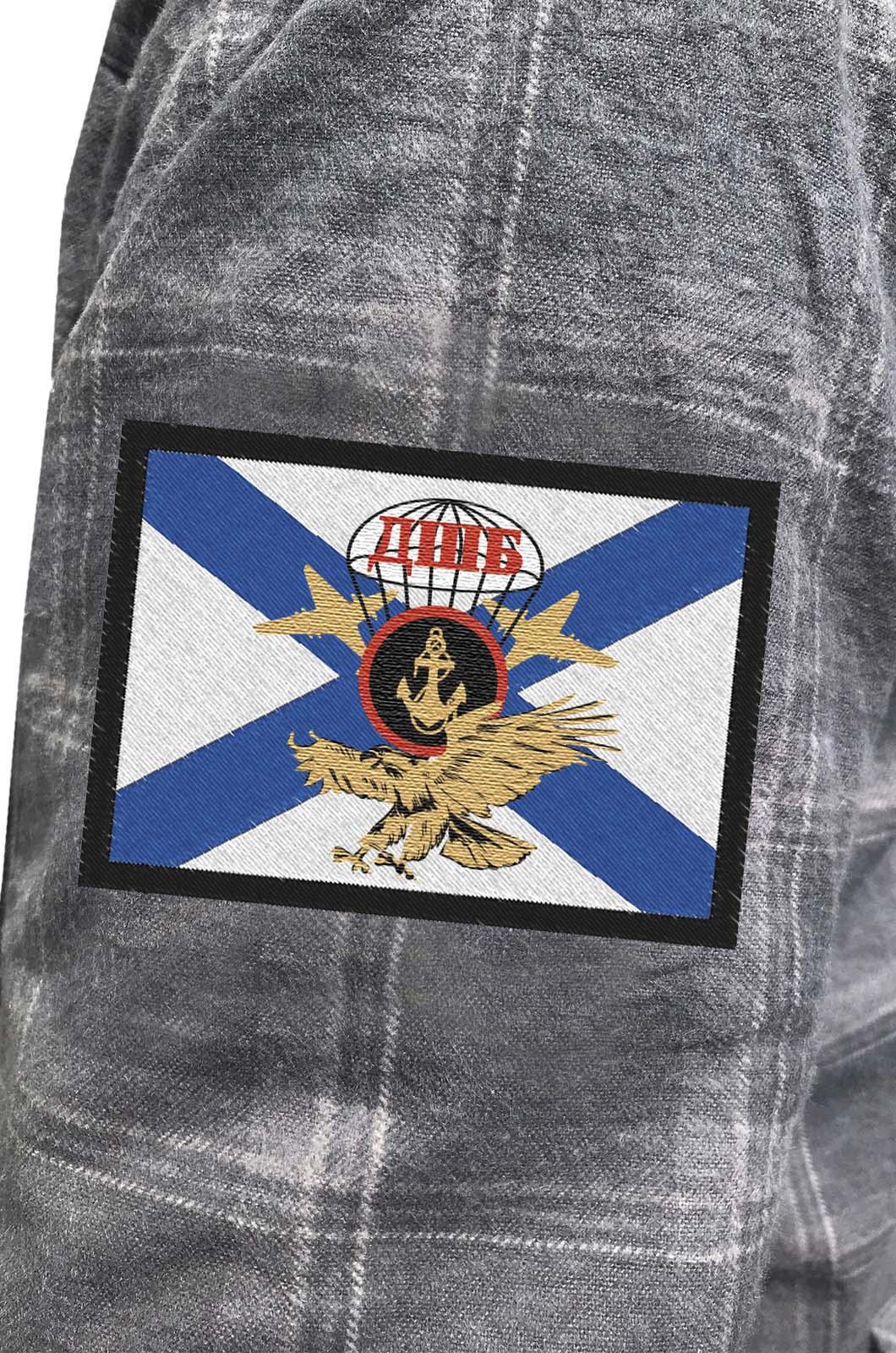 Утепленная мужская рубашка ДШБ Морской пехоты купить в розницу