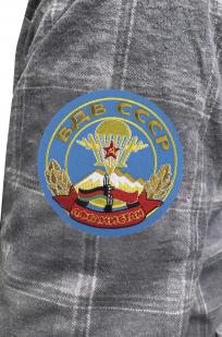 Утепленная рубашка с вышитым шевроном ВДВ СССР Афганистан - заказать в розницу