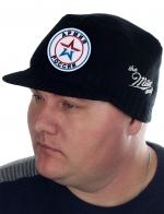 Утепленная шапка с козырьком Miller Way с нашивкой Армия России - купить онлайн