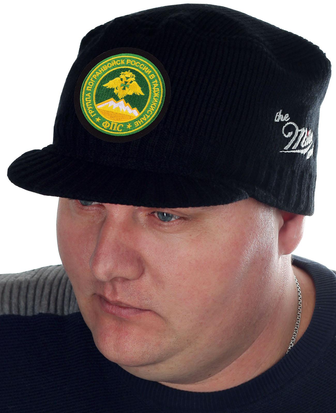 Утепленная стильная шапка с козырьком от Miller - заказать с доставкой