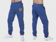 """Утепленные синие спортивные штаны """"Полиция"""""""