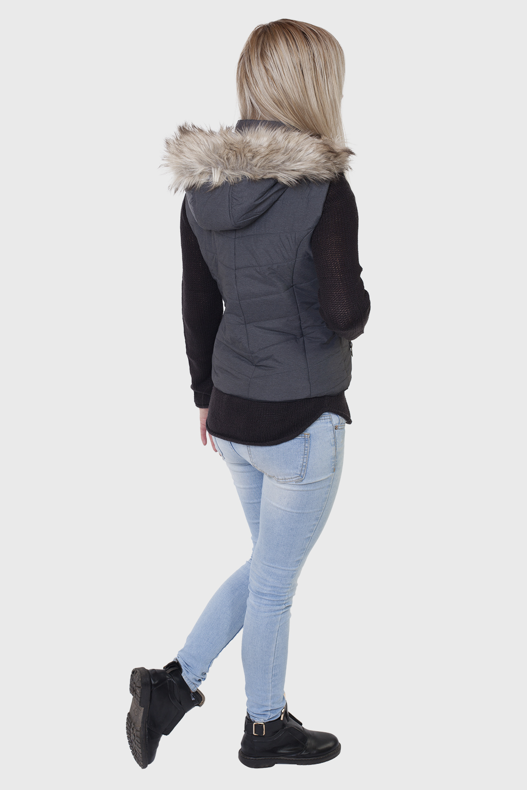 Утепленный женский жилет с капюшоном от Aeropostale (США). заказать в Военпро