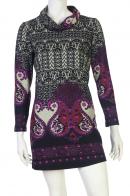 Утонченное платье с необычным принтом от бренда Marie Claire купить по приемлемой цене