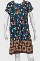 Утонченное платье с оригинальным принтом от Carling