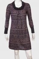Утонченное платье с уютным принтом от Seven Lemon