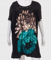 Утонченное платье-туника от бренда YOURS