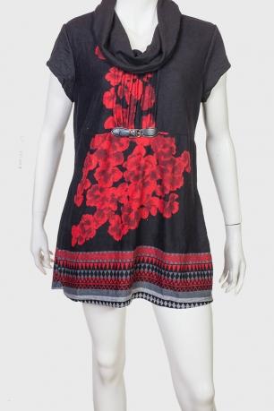 Утонченное стильное платье с цветочным принтом от Le Grenier