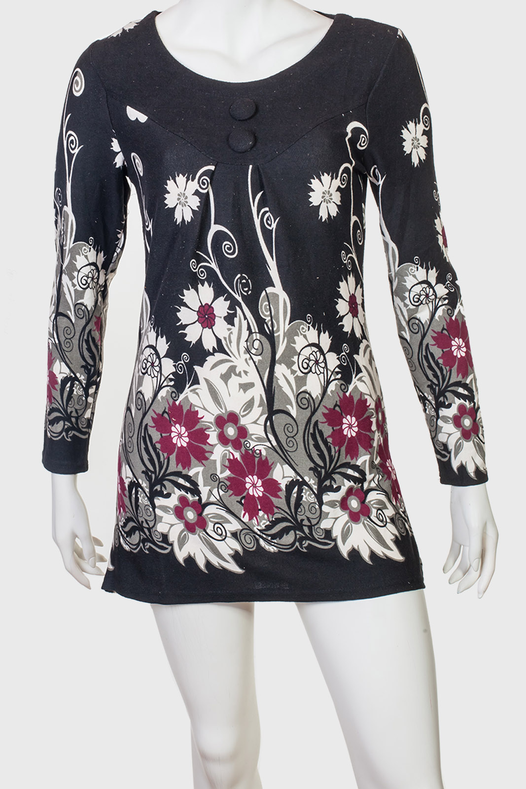 Утонченное трендовое платье-туника