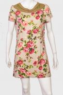 Утонченное женское платье со сногсшибательными розочками