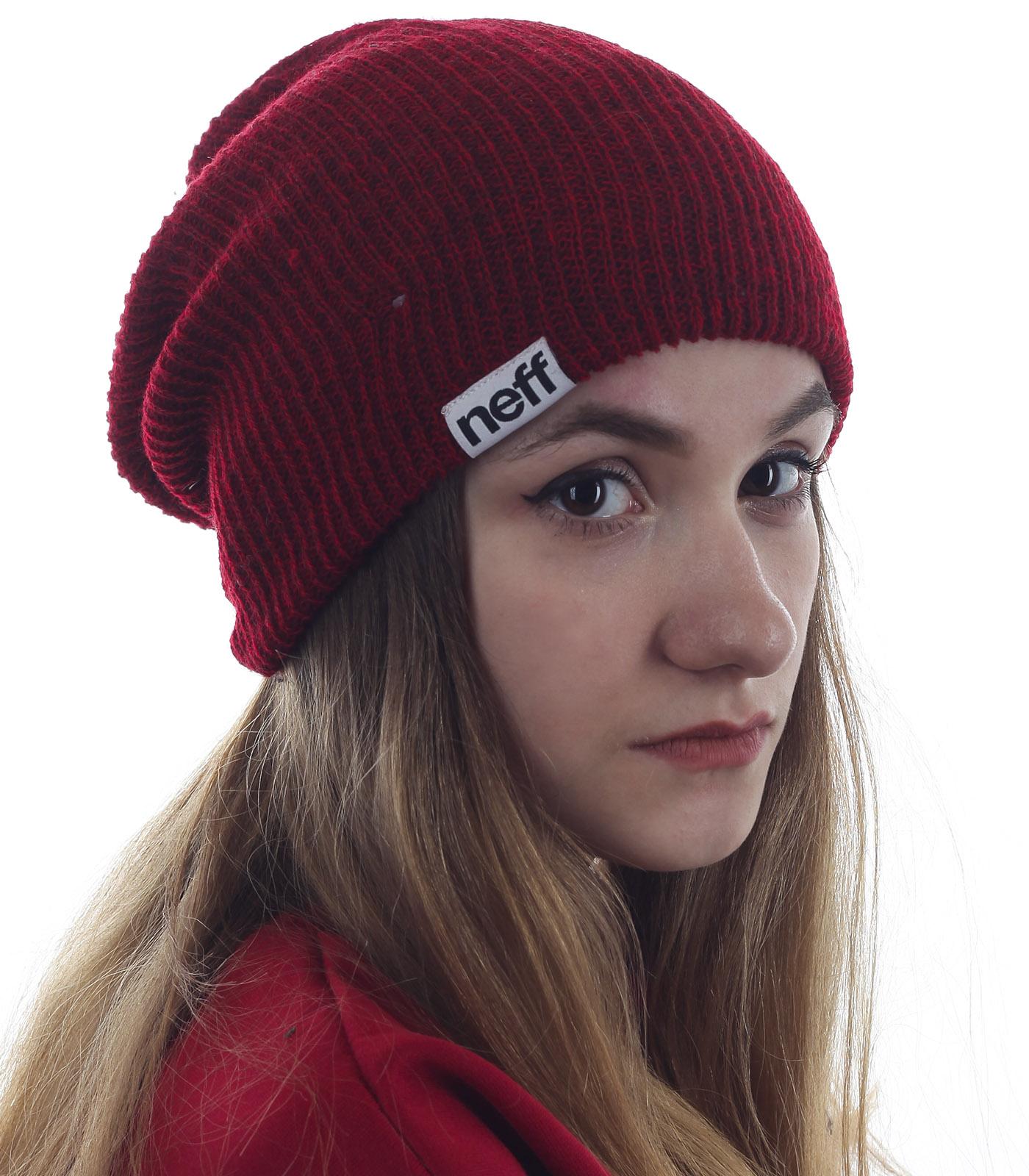 Уютная шапочка от Neff для девушек, ценящих стиль и качество. Популярный головной убор, который подчеркнет красоту лица и не даст замерзнуть