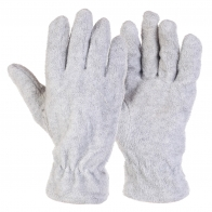 Уютные флисовые перчатки