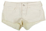 Коттоновые белые шорты