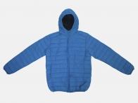 Васильковая мужская куртка URB