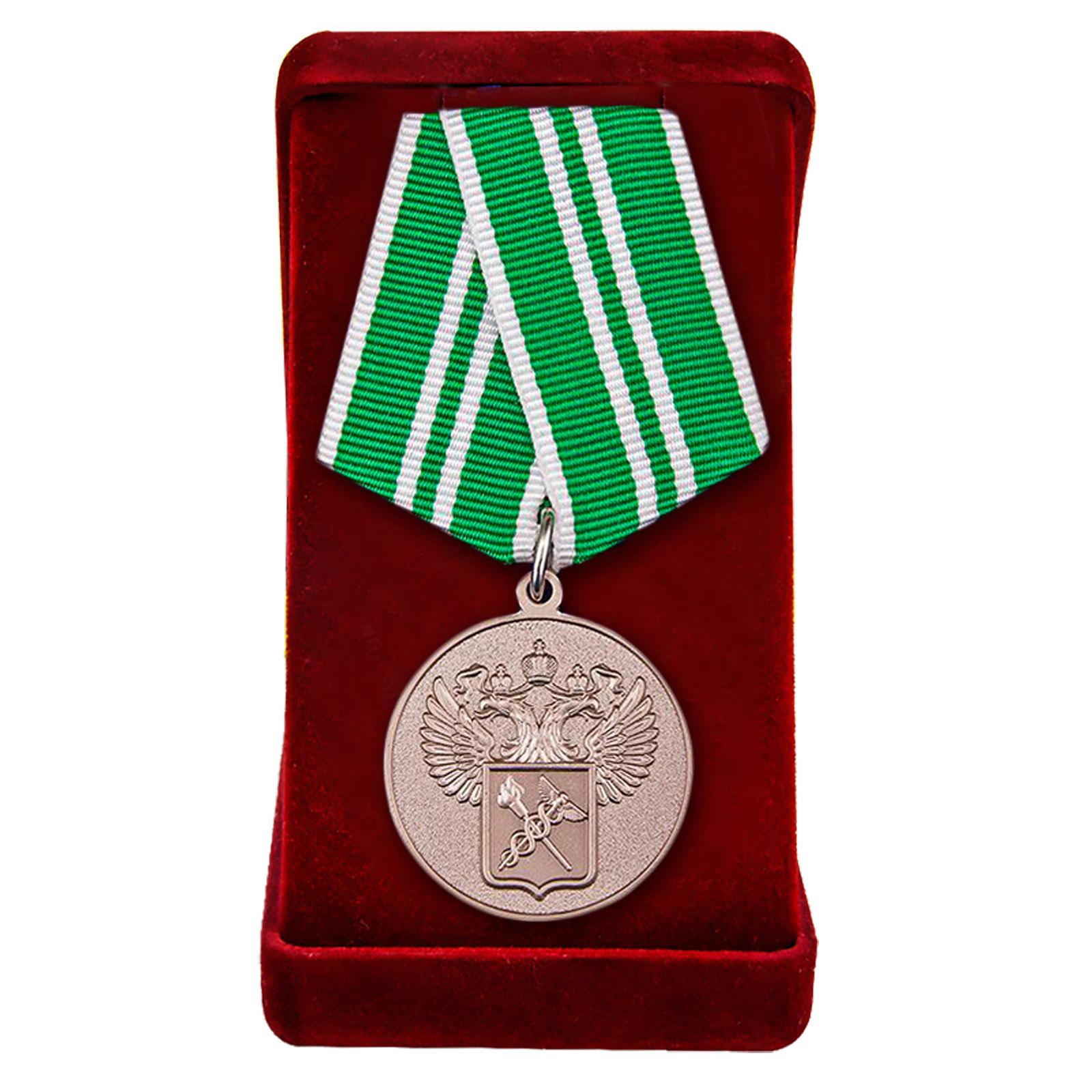 """Купить ведомственную медаль """"За службу в таможенных органах"""" 2 степени с доставкой"""