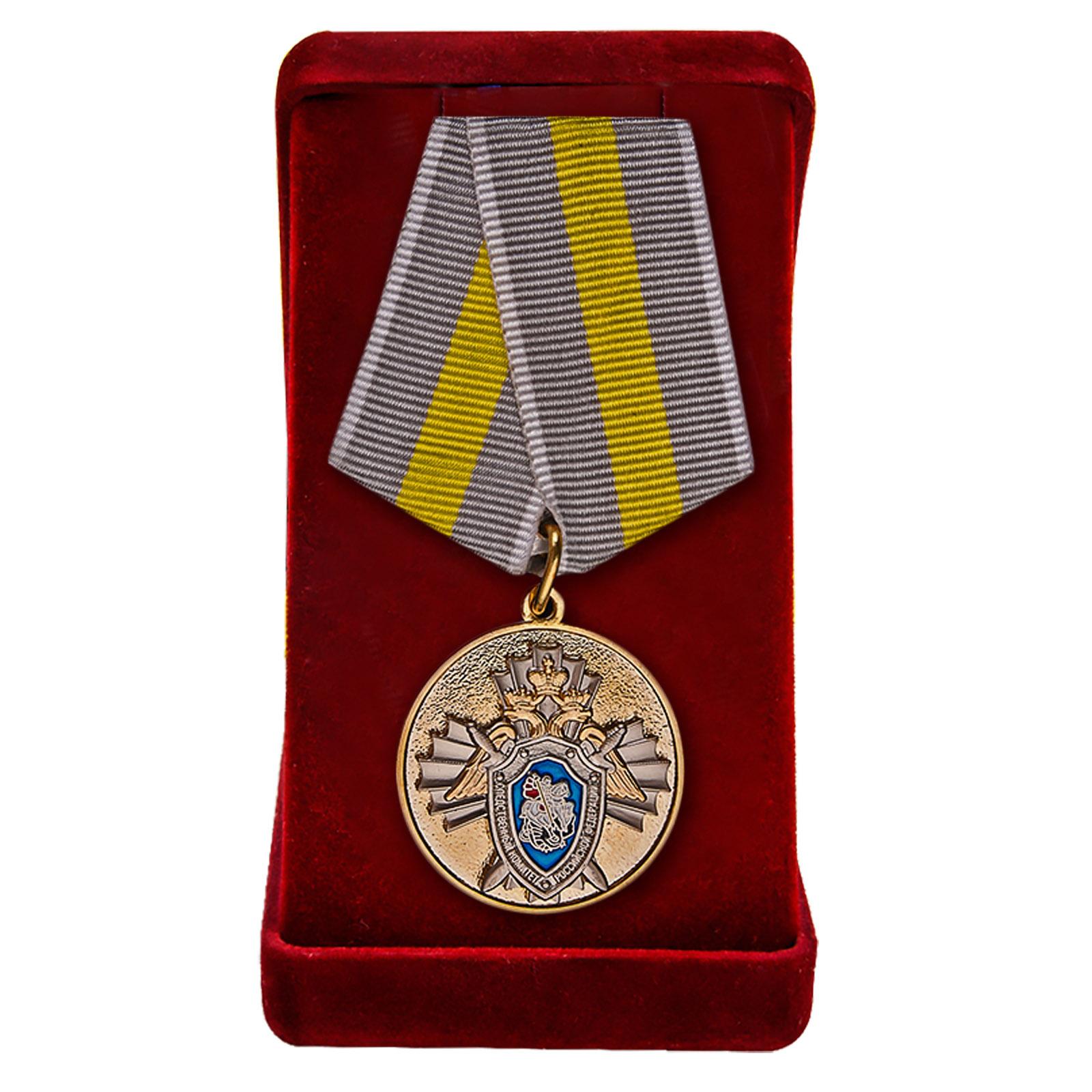 Купить ведомственную медаль СК России За заслуги онлайн с доставкой