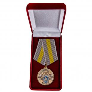 Ведомственная медаль СК России За заслуги - в футляре
