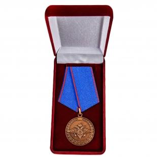 Ведомственная медаль За доблесть в службе МВД - в футляре