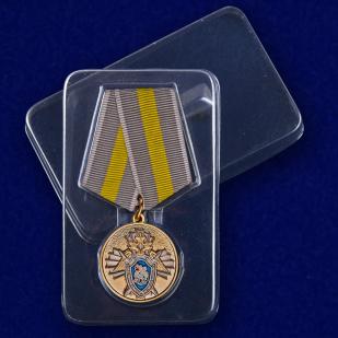 Ведомственная медаль За заслуги (СК России) - в пластиковом футляре
