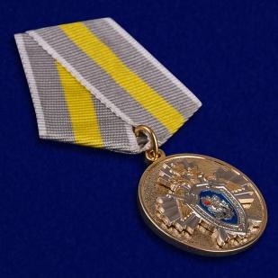 Ведомственная медаль За заслуги (СК России) - общий вид