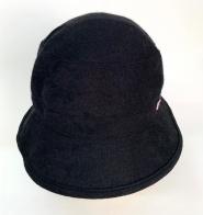 Вельветовая черная шляпа Tommi Girl