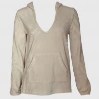 Вельветовая женская кофта с капюшоном Z Supply