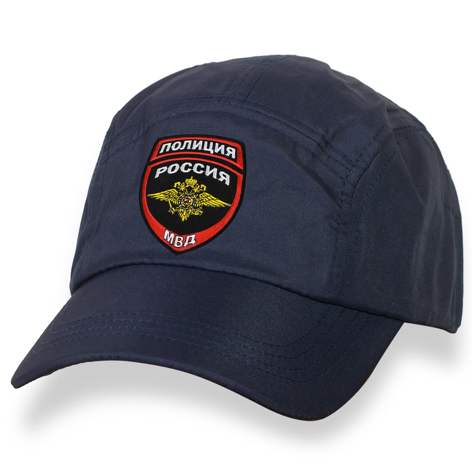 Вентилируемая и легкая бейсболка с вышивкой МВД, Полиция России.