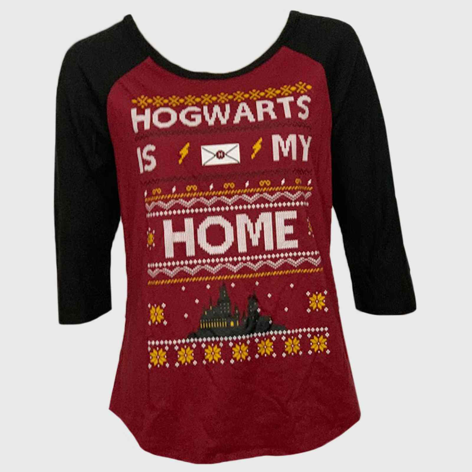 Весёлая женская кофточка Hogwarts is my home