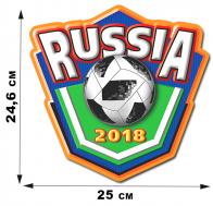 """Наклейка """"Россия-FIFA""""."""
