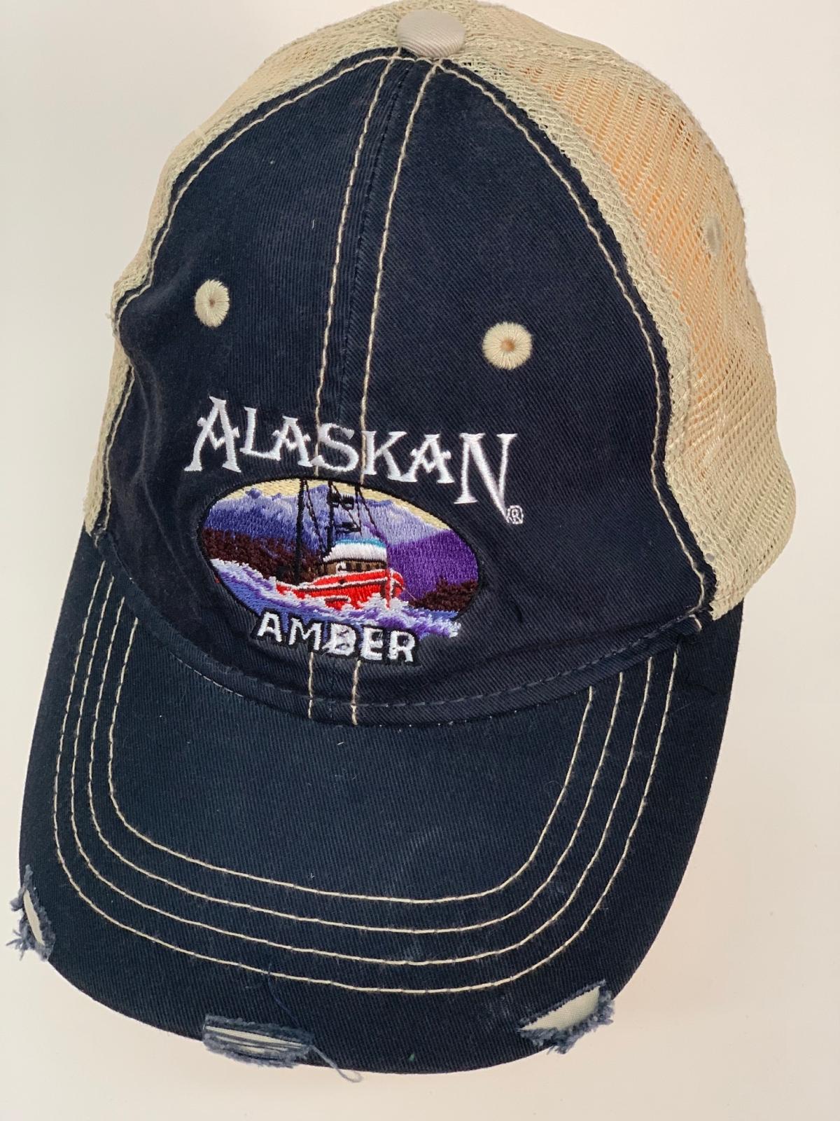 Винтажная бейсболка AlaskaN с вышивкой