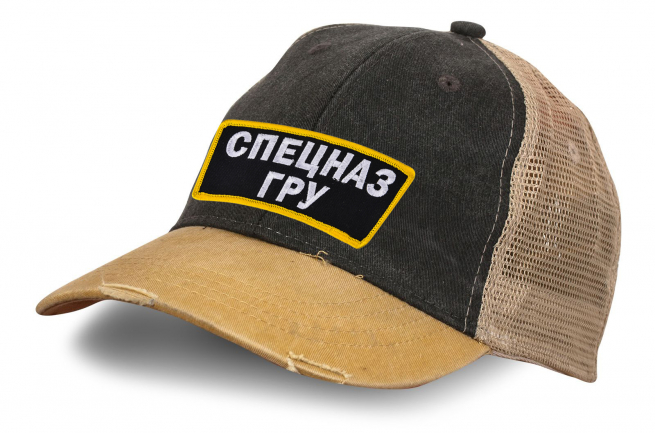 Винтажная кепка Спецназ ГРУ