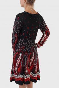 Винтажное демисезонное платье Damart.