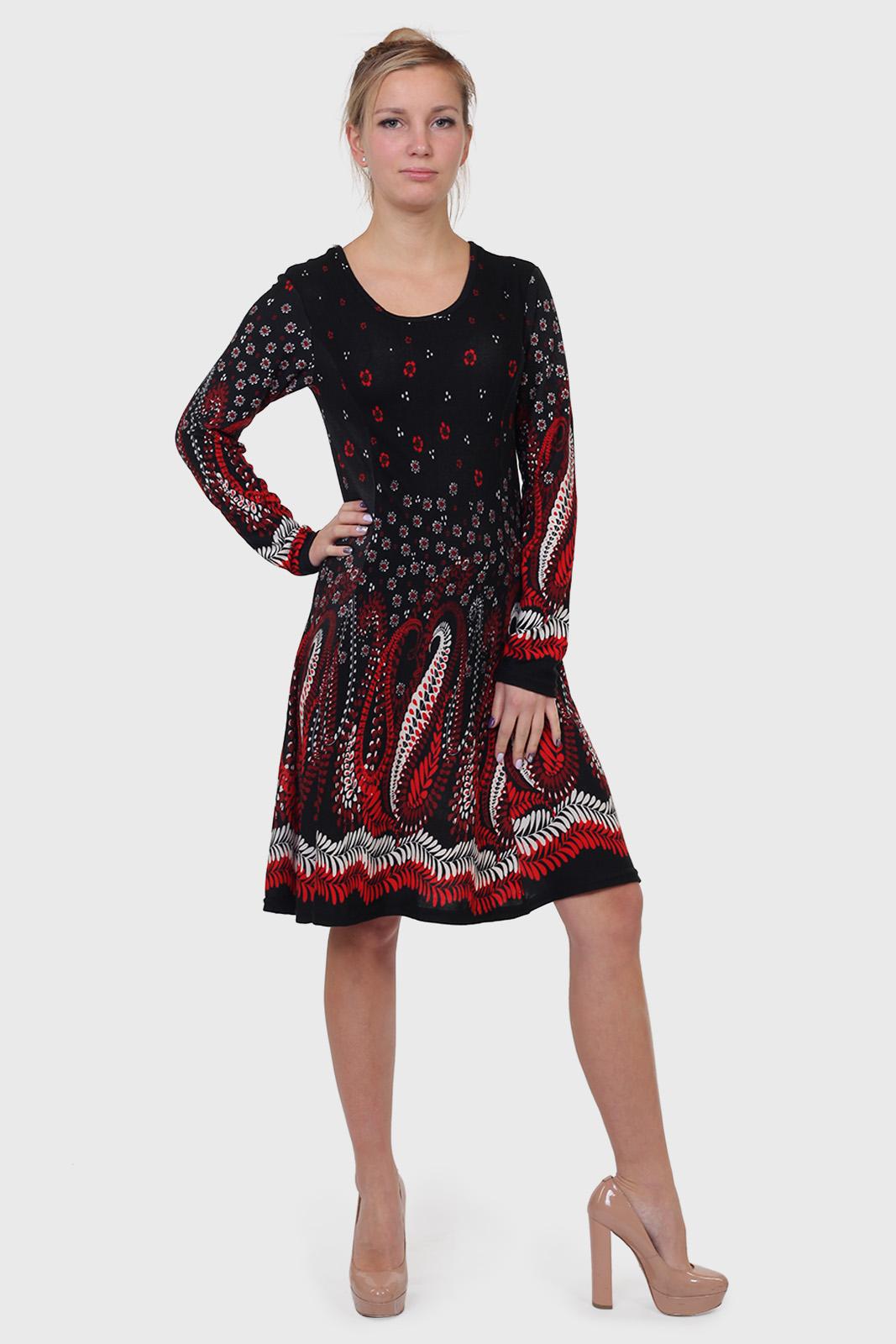 Купить в интернет магазине осеннее платье Damart