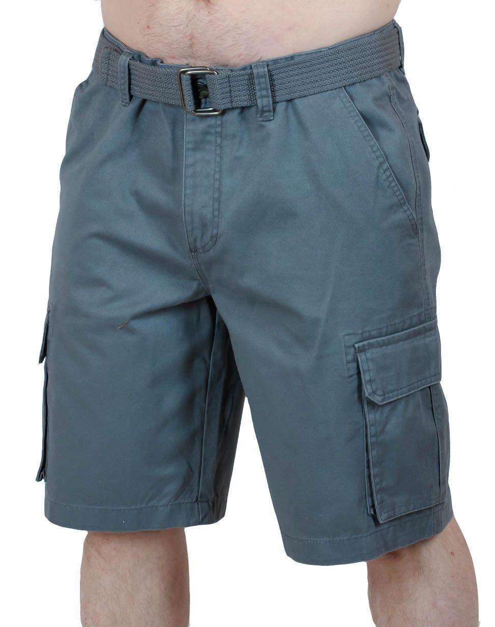 Винтажные шорты карго от Weatherproof - вид спереди
